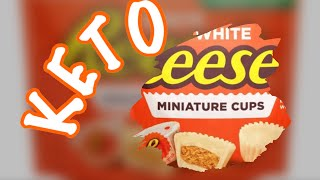 How to make KETO white chocolate peanut butter cups