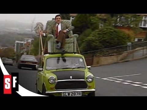 Mr Bean: The Whole Bean - Mr. Bean on a car roof (1/3)