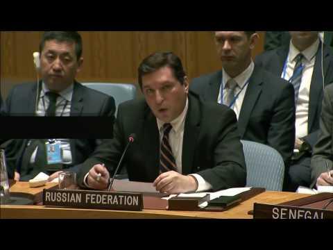 Shameless and disgracing Vladimir Safronkov speech at UN Security Council after Sarin attack