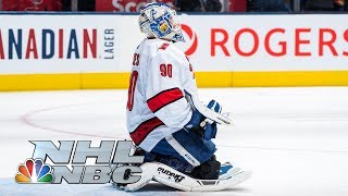 David Ayres' journey from Zamboni driver to NHL goalie for Carolina Hurricanes | NBC Sports