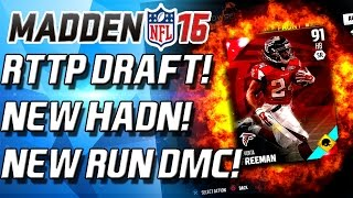 Madden 16 Ultimate Team - RTTP DRAFT! NEW JOE HADEN! NEW RUN DMC! - MUT 16