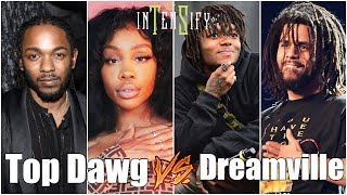 Top Dawg Entertainment vs Dreamville