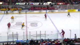 Россия - Швеция, полуфинал U20-2011, часть 3/3