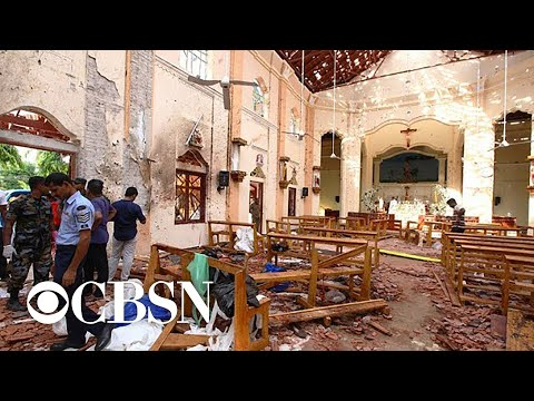 Witness to Sri Lanka bombings describes chaos in aftermath