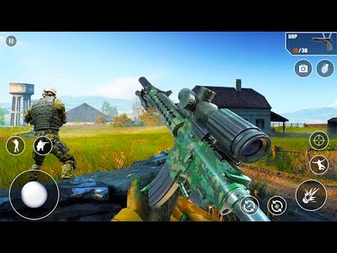 Real Commando Secret Mission - Free Shooting Games - Android GamePlay - FPS Shooting Games Android#7