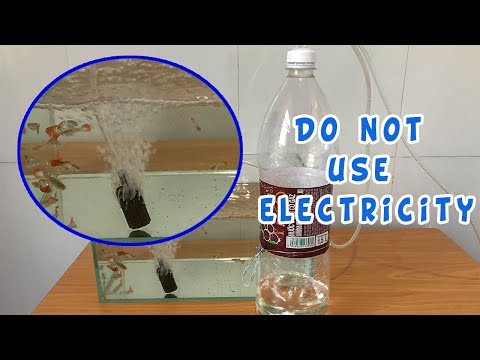 DIY: Air Pump For Fish Tank With Plastic Bottle | Do Not Use Electricity