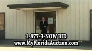 Auction office Warehouse 811 Edwards Road; Fort Pierce, FL 34984