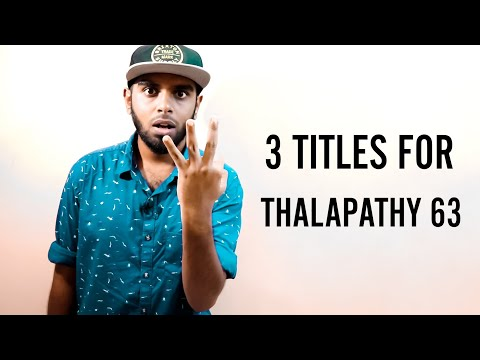 3 Titles Got Confirmed For Thalapathy 63 - 3 Months More For FL | Real Valentine's Day❤️