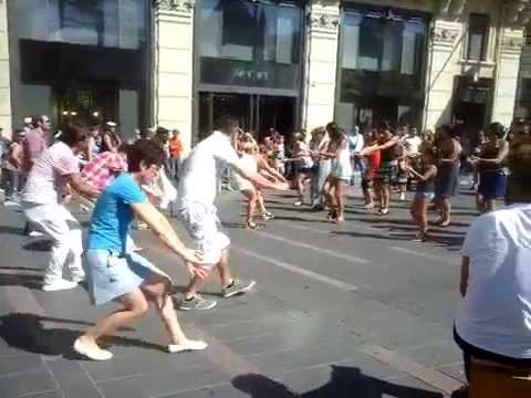 flashmob salsa Toulouse 29/08/2015