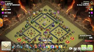 COC# clash of clans # TH 11 3 star# Compartmental base # Goho