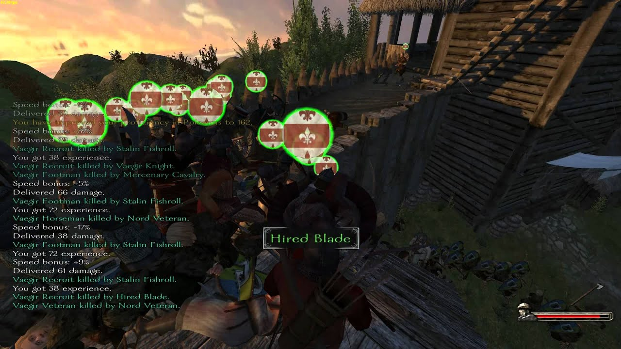 Mount and blade own kingdom game