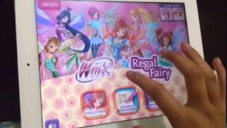 Nayla nuralifa Winx regal fairy app review