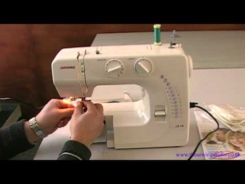 Janome J3 18 Sewing Machine Review Youtube