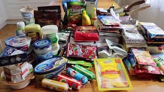 Покупка продуктов в Auchan (Белосток, Польша)/ 2019 / Julia home (часть 1)