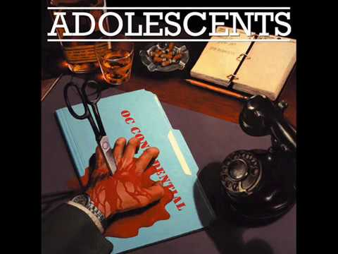 Adolescents - OC Confidential (Full Album)