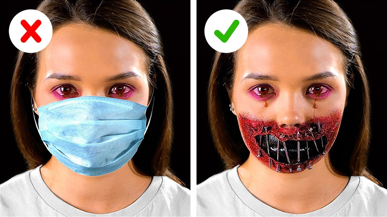 Creepy Halloween Makeup And Costume Ideas Youtube