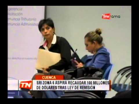 SRI zona 6 aspira recaudar 100 millones de dólares tras ley de remisión