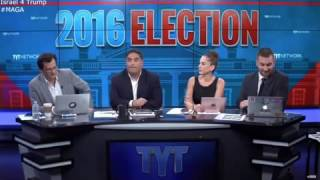 The moment when Young Turks realize Trump won over Hillary