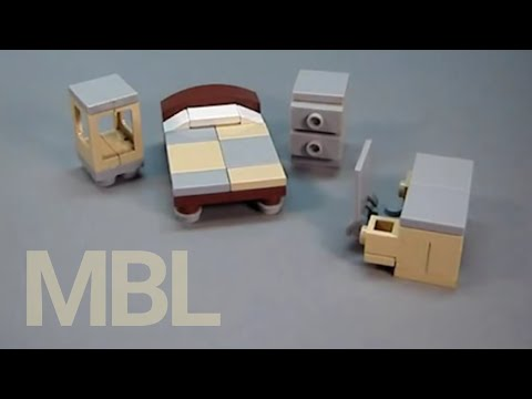 Как сделать LEGO-мебель