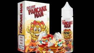 Deluxe Pancake Man by Vape Breakfast Classics | E-Liquid Vape Review