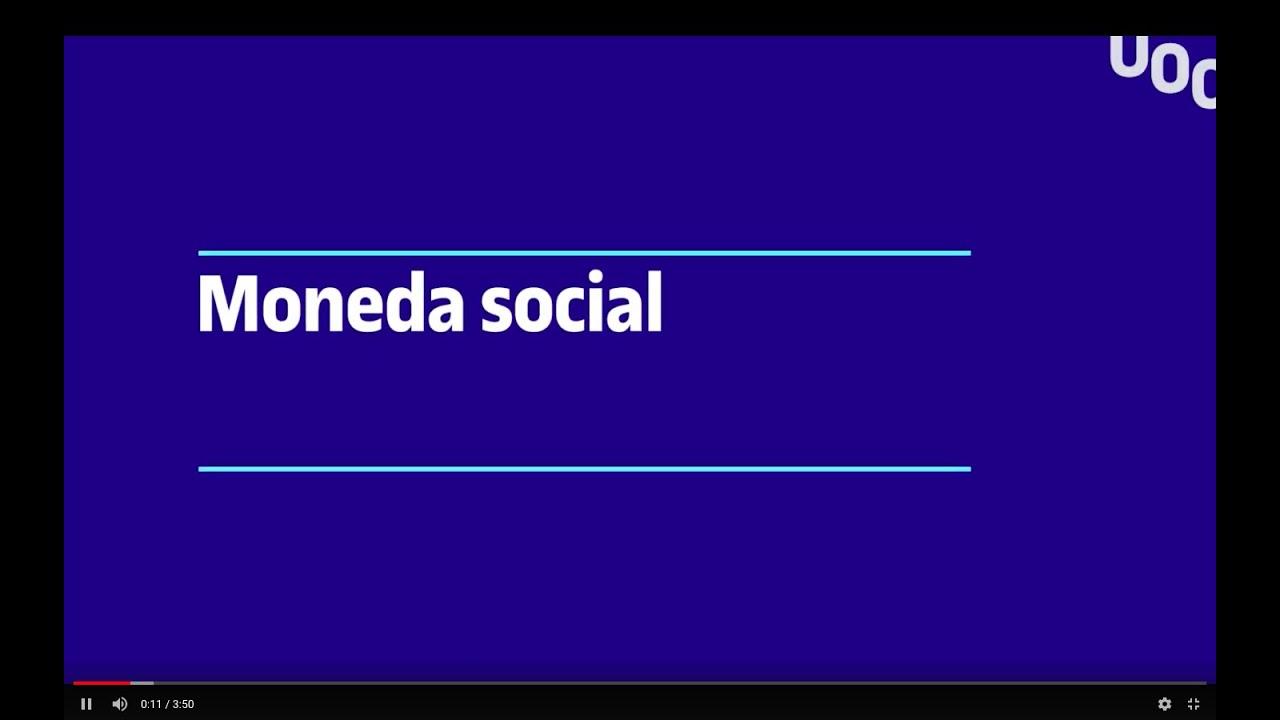 Las monedas sociales