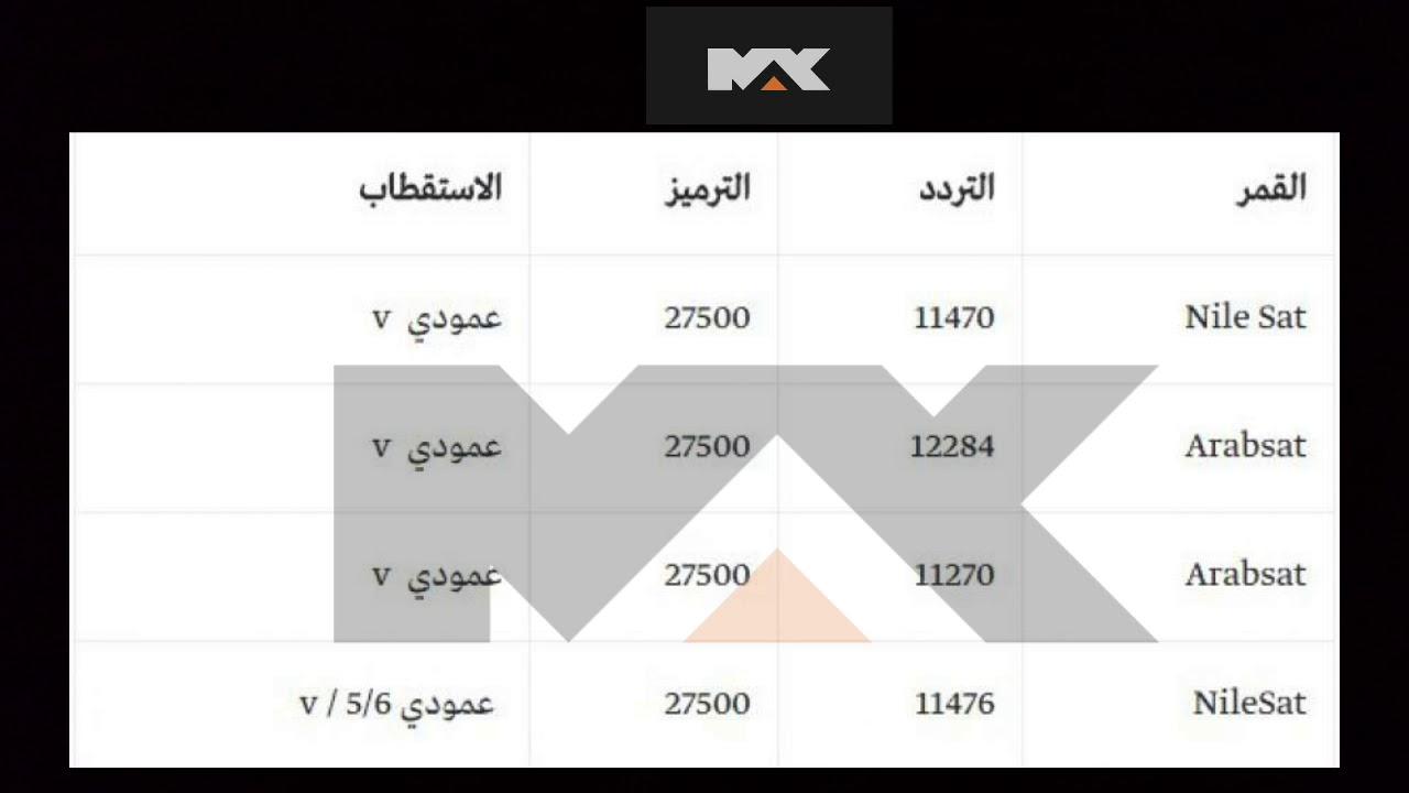 تردد قناة Mbc Max جديد عله كل اقمار 2018 2019