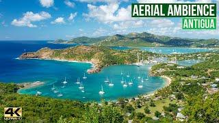 BEAUTIFUL ANTIGUA ... A Caribbean Island Gem 💎 (4k aerial video)