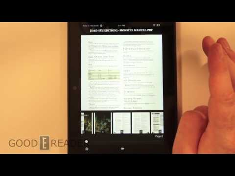 Lets look at PDF Files on the Kindle Fire HDX 8.9