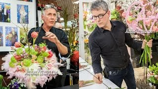 Max van de Sluis и Rob Plattel в Театре цветов-2017