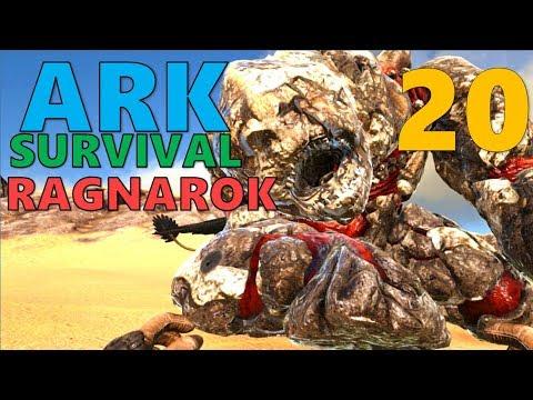 [20] EXPLORING BEYOND THE WORLD BORDER (ARK Survival Evolved Ragnarok)