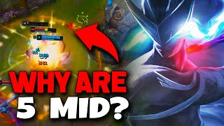 How To Play Wнen You Are Constantly Ganked and Roamed On Mid Lane - League of Legends