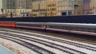Train HO - Train Auto Couchette SNCB N°1439 Camino Azul - RMCCO