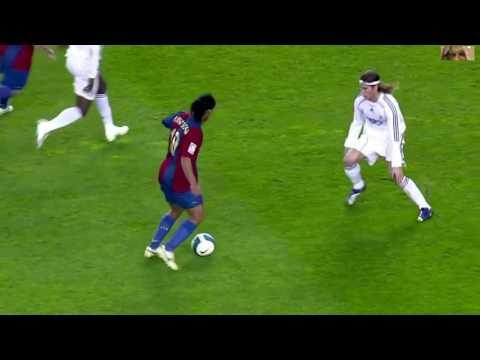 Ronaldinho  vs Real Madrid Home 2006 - 2007 HD 720p