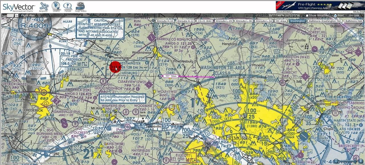 VFR Charts (Part XI) Radio Aids to Navigation - YouTube