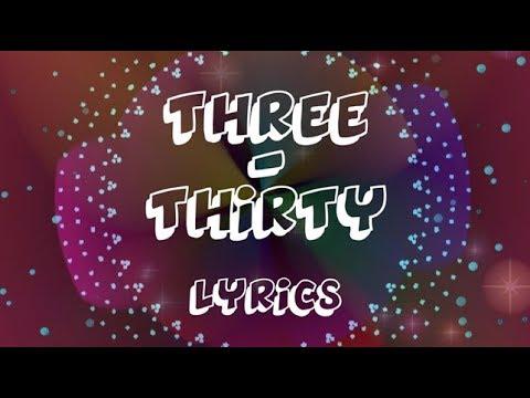 Three Thirty - Lyrics