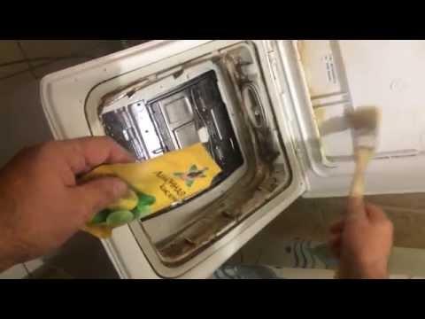 Очистка стиральной машины BOSCH Max 5 вертикальной загрузки