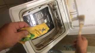 Очистка стиральной машины BOSCH max 5 вертикальной загрузки(Очистка стиральной машины BOSCH max 5 вертикальной загрузки от грязи и накипи с помощь лимонной кислоты Полный..., 2015-01-08T09:39:41.000Z)