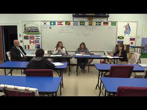Clarksburg School Meeting 10 3 19 mov
