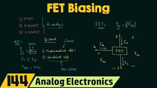 Introduction To FET Biasing