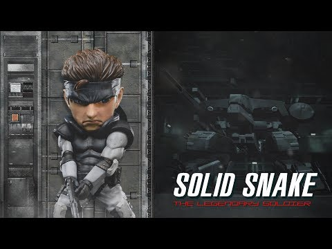 Metal Gear Solid - Solid Snake SD Teaser