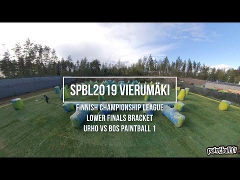 Urho vs BOS Paintball 1 - SPBL2019 Vierumäki