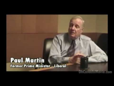 Former PM of Canada Paul Martin - Where Does Money Come From?