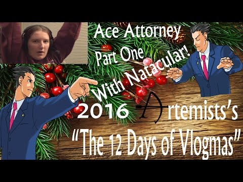 WORST LAWYER EVER | Ace Attorney - Part 1 [w/ Natacular!]