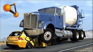 BeamNG.Drive Trucks Vs Cars #5 - Insanegaz thumbnail