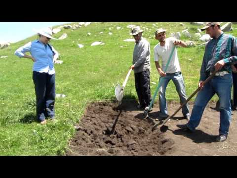 Excavating with Project ArAGATS in Armenia