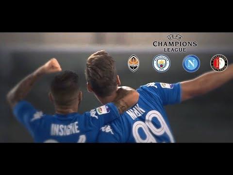 PROMO SSC Napoli | Shakhtar Donetsk - Manchester City - Feyenoord Champions League 2017/18 HD