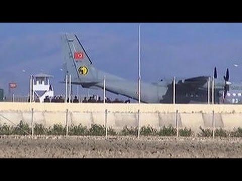 Тело пилота Олега Пешкова доставлено в Анкару