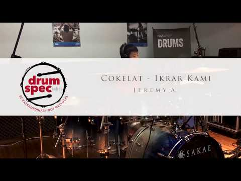 Jeremy A. - Ikrar Kami (Cokelat) Drum Cover