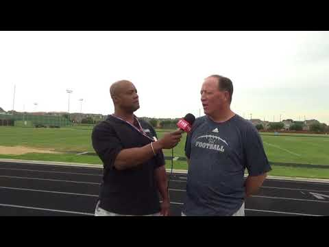 Ranchview Head Football Coach Terry Smith