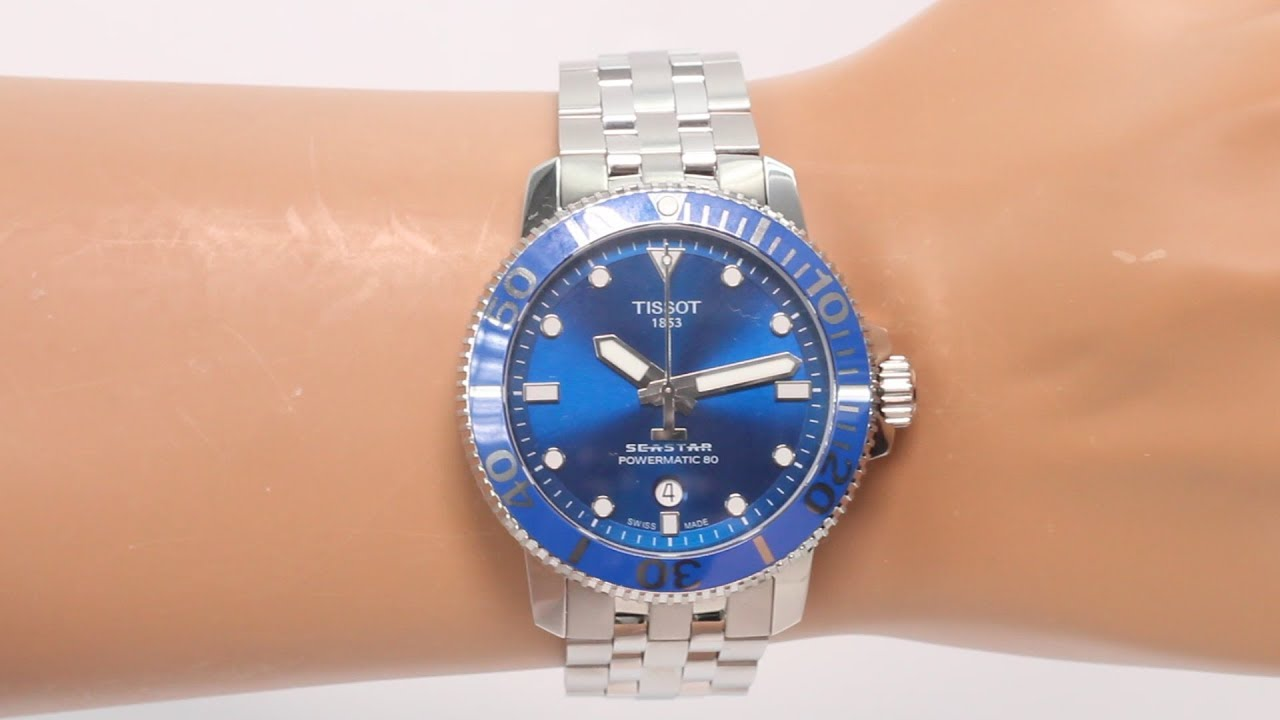Tissot Seastar 1000 Powermatic 80 Price